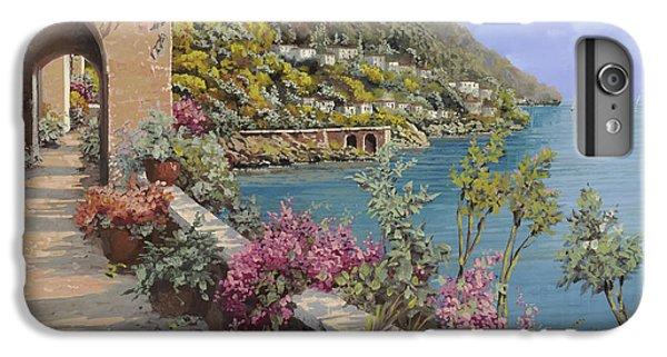 Lake iPhone 7 Plus Case - Tanti Fiori Sulla Terrazza by Guido Borelli