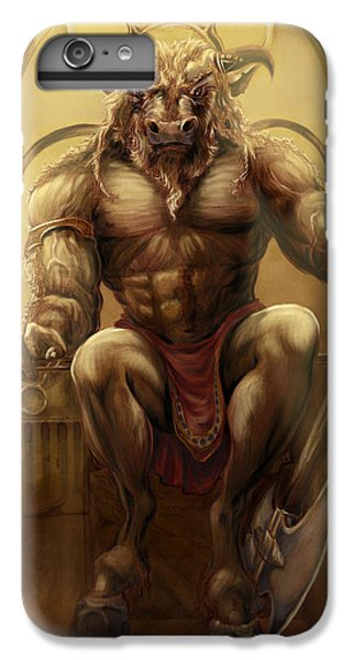 Minotaur iPhone 7 Plus Case - Taurus II by Rob Carlos