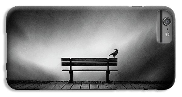 Crow iPhone 7 Plus Case - Tempus Fugit by Sebastien Del Grosso