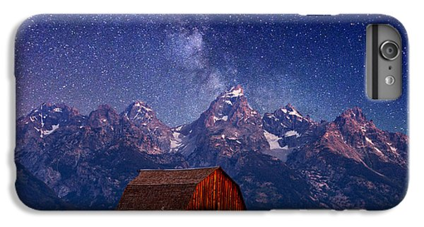 Mountain iPhone 7 Plus Case - Teton Nights by Darren  White