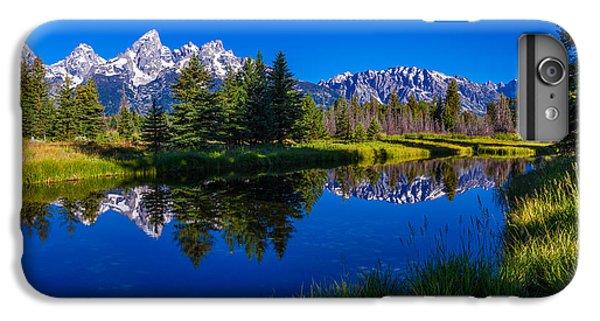 Mountain iPhone 7 Plus Case - Teton Reflection by Chad Dutson