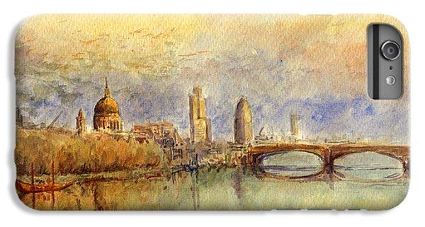 England iPhone 7 Plus Case - Thames London by Juan  Bosco