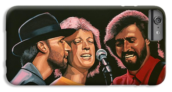 Rhythm And Blues iPhone 7 Plus Case - The Bee Gees by Paul Meijering
