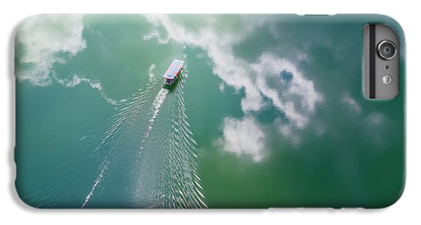Boats iPhone 7 Plus Case - The Boat Painting by Zhou Chengzhou