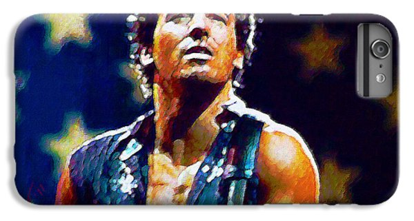 Bruce Springsteen iPhone 7 Plus Case - The Boss by John Travisano