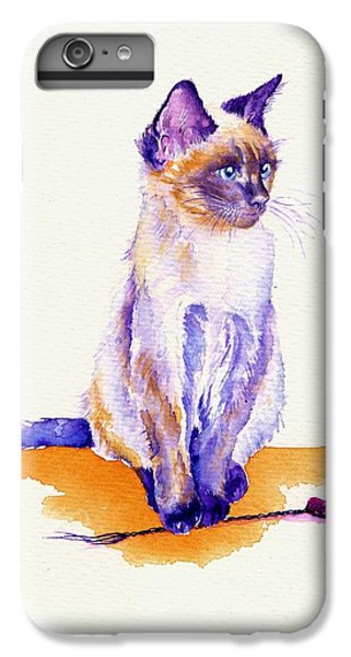 The Catmint Mouse Hunter IPhone 7 Plus Case by Debra Hall