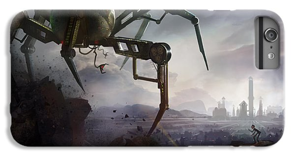 Insects iPhone 7 Plus Case - The Chase by Kristina Vardazaryan