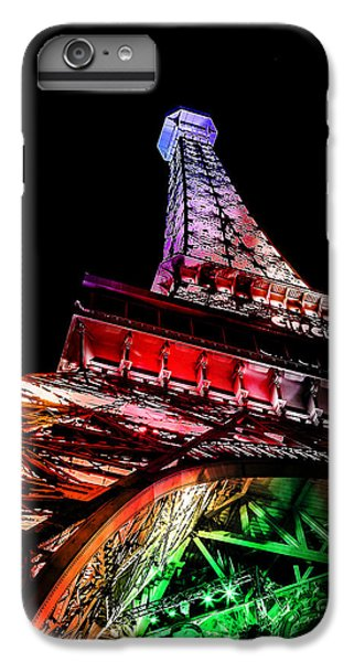 Eiffel Tower iPhone 7 Plus Case - The Color Of Love by Az Jackson