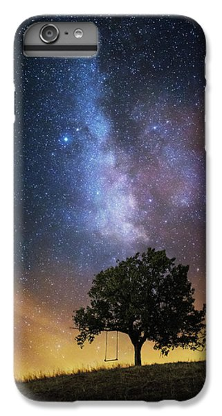 Fairy iPhone 7 Plus Case - The Dreamer's Seat by Luk???? Ild??a
