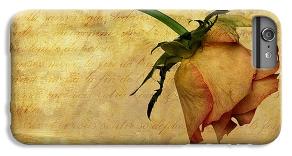 Rose iPhone 7 Plus Case - The End Of Love by John Edwards