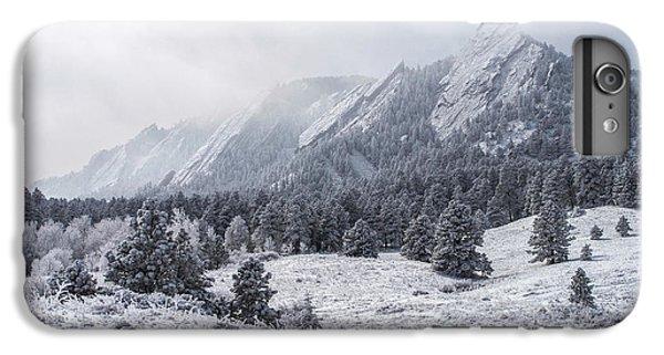 The Flatirons - Winter IPhone 7 Plus Case