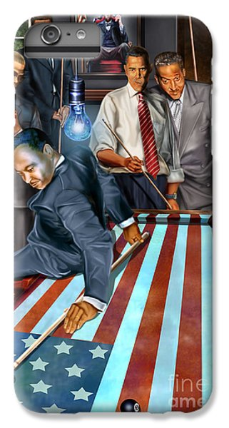 Politicians iPhone 7 Plus Case - The Game Changers And Table Runners by Reggie Duffie