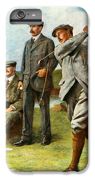 Golf iPhone 7 Plus Case - The Great Triumvirate by Clement Flower