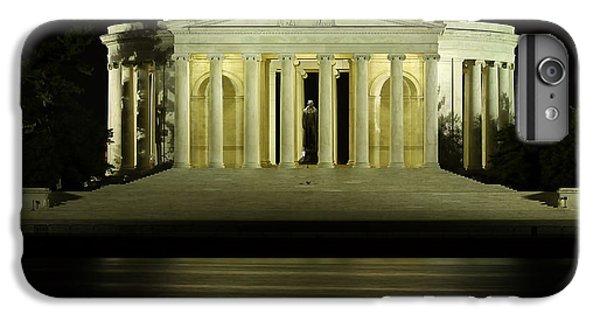 Jefferson Memorial iPhone 7 Plus Case - The Jefferson Memorial by Kim Hojnacki