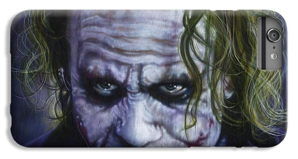 The Joker IPhone 7 Plus Case by Timothy Scoggins