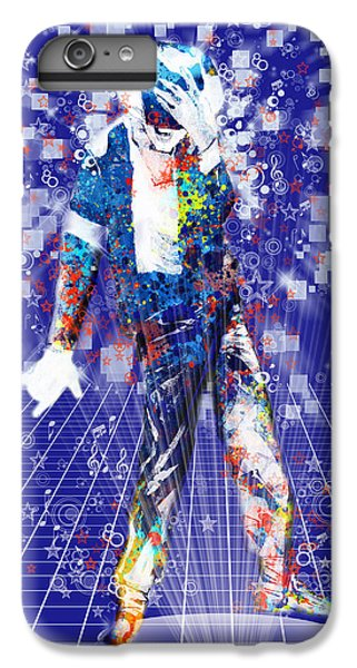 Michael Jackson iPhone 7 Plus Case - The King 4 by Bekim Art