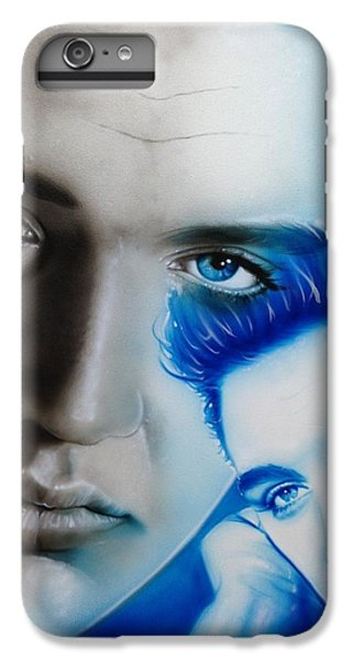Elvis Presley - ' The King ' IPhone 7 Plus Case by Christian Chapman Art