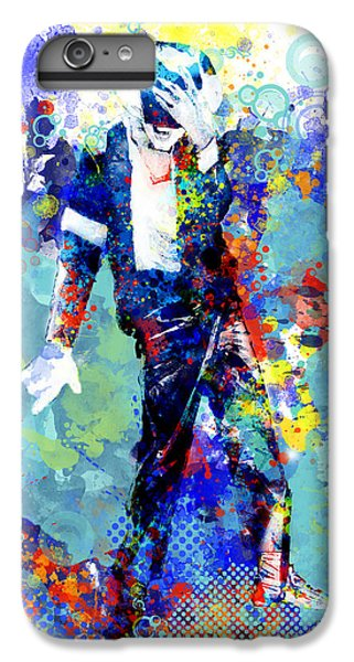 Michael Jackson iPhone 7 Plus Case - The King by Bekim Art