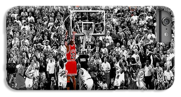 Michael Jordan iPhone 7 Plus Case - The Last Shot 1 by Brian Reaves