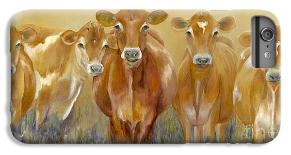 Cow iPhone 7 Plus Case - The Morning Moo by Catherine Davis