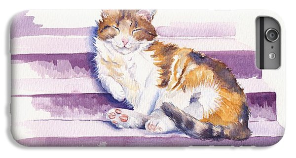 Cat iPhone 7 Plus Case - The Naughty Step by Debra Hall