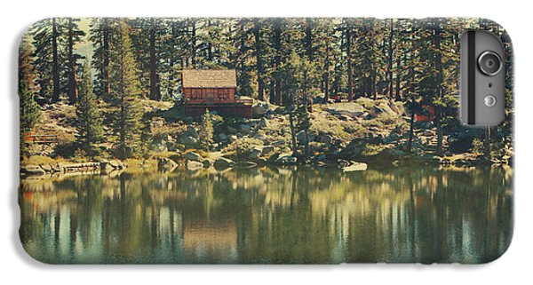Lake iPhone 7 Plus Case - The Old Days By The Lake by Laurie Search