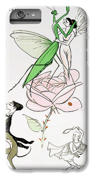 Grasshopper iPhone 7 Plus Case - The Poets Corner by Sem
