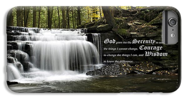 The Serenity Prayer IPhone 7 Plus Case by Christina Rollo