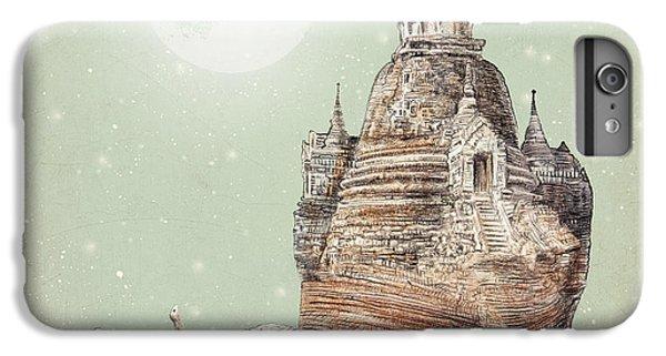 Moon iPhone 7 Plus Case - The Snail's Dream by Eric Fan