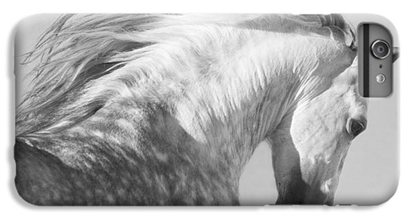 Horse iPhone 7 Plus Case - The Spanish Stallion Tosses His Head by Carol Walker