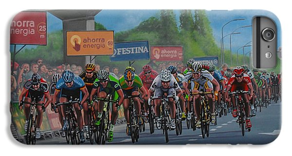 Athletes iPhone 7 Plus Case - The Vuelta by Paul Meijering