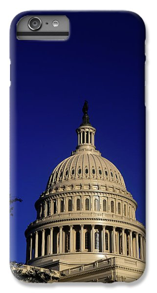 Capitol Building iPhone 7 Plus Case - The West Side Of The United States by Dennis Brack