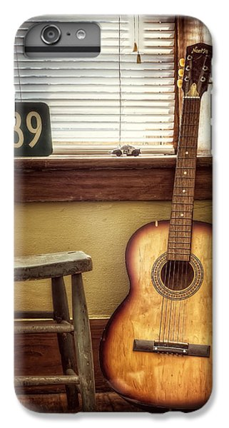 Guitar iPhone 7 Plus Case - This Old Guitar by Scott Norris