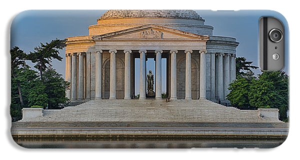 IPhone 7 Plus Case featuring the photograph Thomas Jefferson Memorial At Sunrise by Sebastian Musial