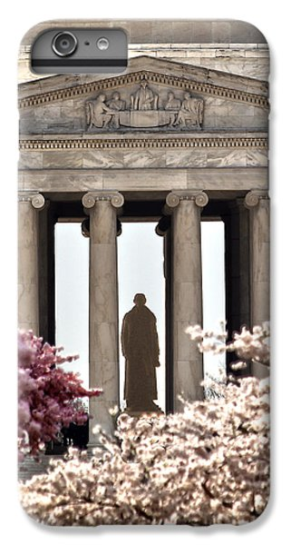 Jefferson Memorial iPhone 7 Plus Case - Thomas Jefferson by Mitch Cat