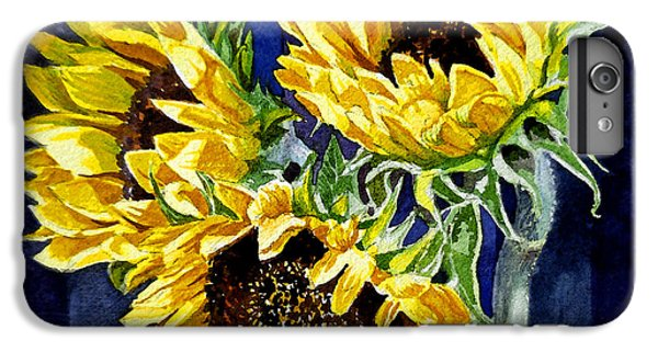Three Sunny Flowers IPhone 7 Plus Case