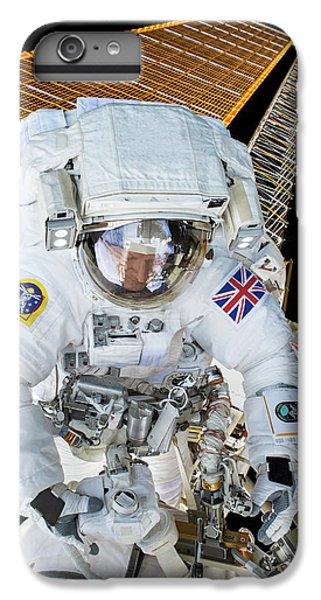 Emu iPhone 7 Plus Case - Tim Peake's Spacewalk by Nasa