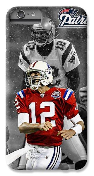 England iPhone 7 Plus Case - Tom Brady Patriots by Joe Hamilton