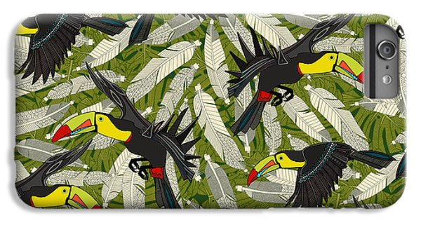 Toucan Jungle IPhone 7 Plus Case
