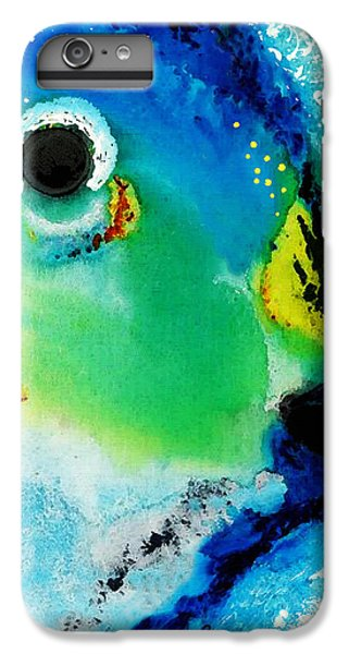 Parrot iPhone 7 Plus Case - Tropical Fish 2 - Abstract Art By Sharon Cummings by Sharon Cummings