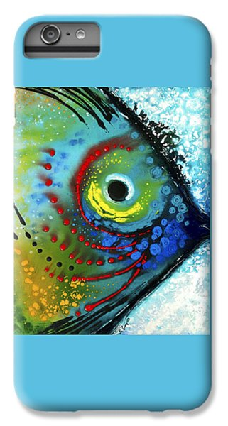 Miami iPhone 7 Plus Case - Tropical Fish - Art By Sharon Cummings by Sharon Cummings
