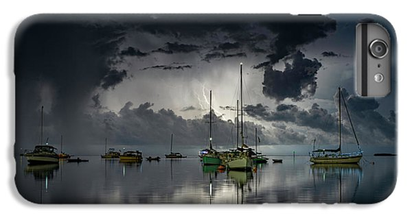 Boats iPhone 7 Plus Case - Tropical Storm2 by Alexandru Popovski
