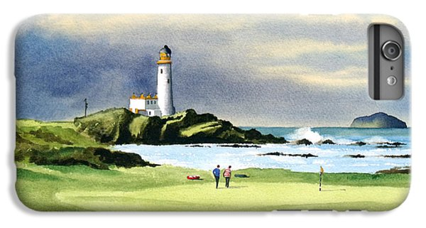 Golf iPhone 7 Plus Case - Turnberry Golf Course Scotland 10th Green by Bill Holkham