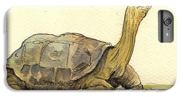 Turtle iPhone 7 Plus Case - Turtle Galapagos by Juan  Bosco