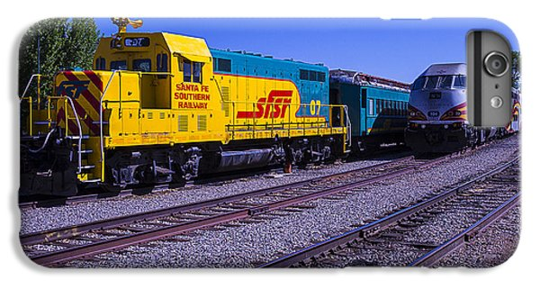 Roadrunner iPhone 7 Plus Case - Two Trains by Garry Gay