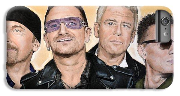 U2 IPhone 7 Plus Case by Melanie D
