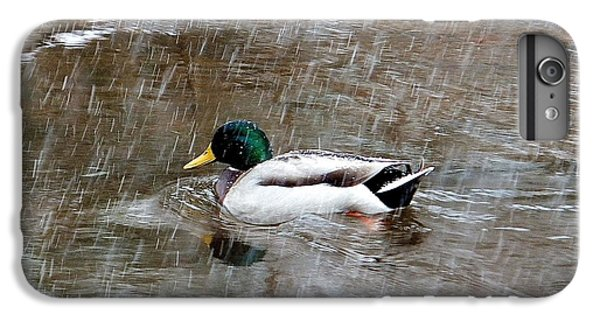 IPhone 7 Plus Case featuring the photograph Un Froid De Canard by Marc Philippe Joly