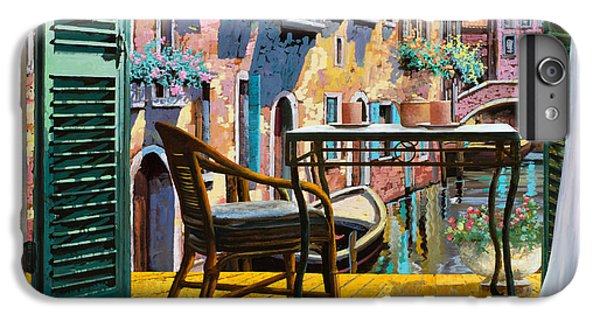 Cocktails iPhone 7 Plus Case - Un Soggiorno A Venezia by Guido Borelli