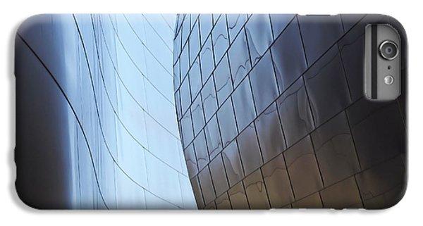 Undulating Steel IPhone 7 Plus Case by Rona Black