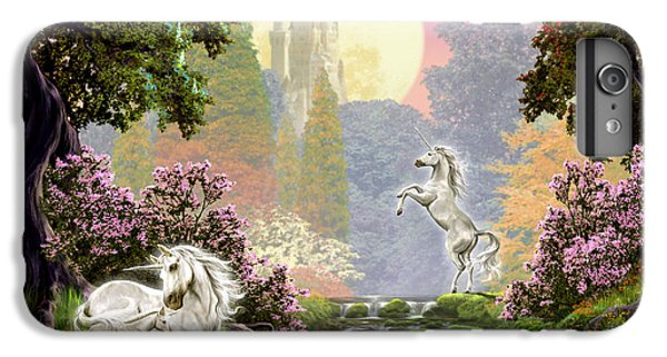 Unicorn New Born IPhone 7 Plus Case by Garry Walton